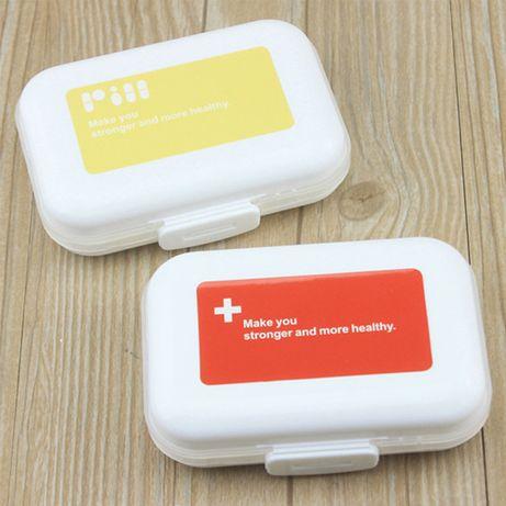 Компактная таблетница/мобильный дорожный органайзер для таблеток/бокс