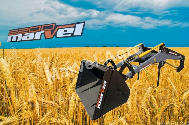 Быстросъемный погрузчик КУН на трактор ЮМЗ, Т-40, МТЗ - Marvel 2200