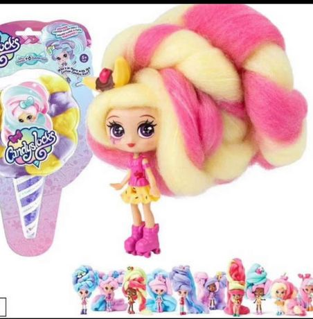 Куколки Candyslocks волосы сахарная вата