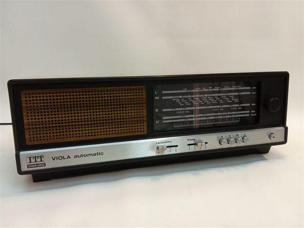 Sprzedam radio ITT Viola 103 Automatic - sprawne, ładnie gra
