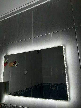 Espelho WC Com Led