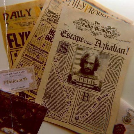 Гарри Поттер газета плакат сувенир