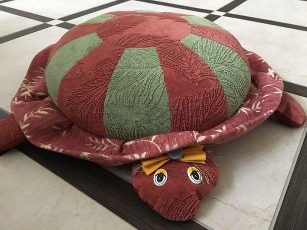 Подушка черепаха, игрушка черепашка