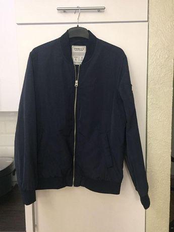 Курта бомбер осенняя мужская синего цвета Спрингфилд