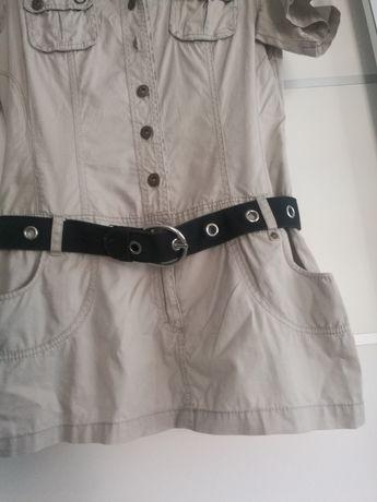 Sukienka damska mundurek komplet jednoczęściowy
