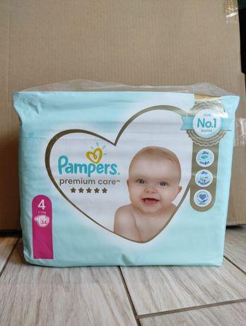 Підгузники Pampers premium care 4