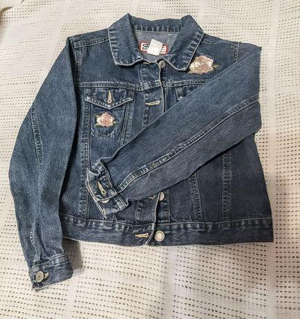 Katana kurtka jeansowa krótka XS
