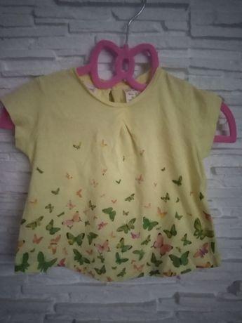 Koszulka Zara roz 68