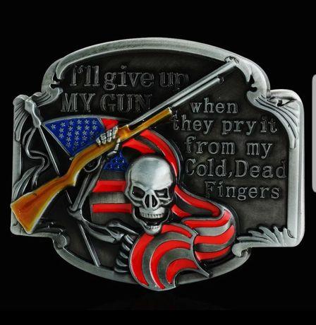 "Klamra motocyklowa "" America """