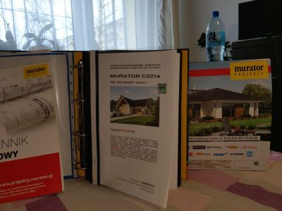 Projek domu Murator Racjonalny wariant 1 C221a