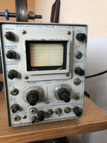 осциллограф с 1-49Б