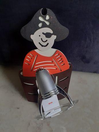 Kinkiet pirat do dziecięcego pokoju