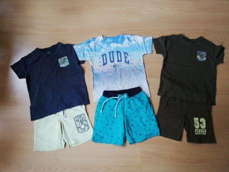 Koszulka i spodenki r 110 - 116