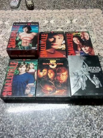 series originais,naruto, Smallville,irmaos de armas, etc