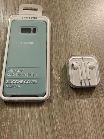 Samsung s8 plus Etui i słuchawki