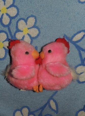 Интерактивная игрушка плюшевая музыкальная влюбленные птенцы