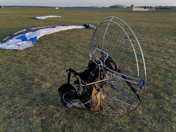 Napęd PPG Raket 120 Paralotnia