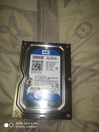 Продам новый жесткий диск 500gb