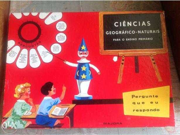 Jogo Majora Vintage ciências naturais.