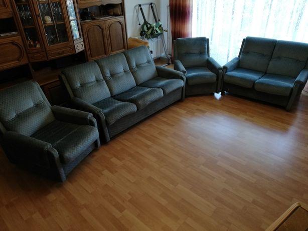 Kanapa fotel komplet wypoczynkowy