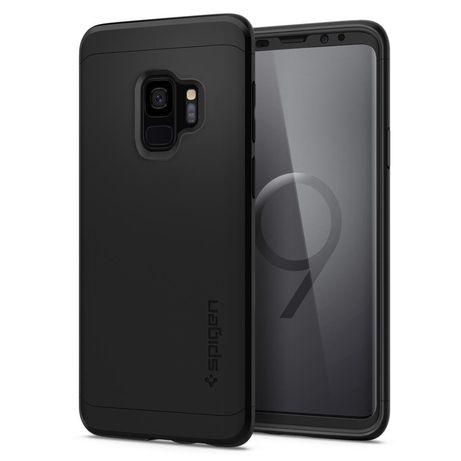 Etui Spigen Thin Fit 360 Samsung Galaxy S9 Black Case Pokrowiec