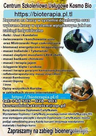 Kurs stawiania baniek terapii Dźwiękiem terapia jajem masażu Klimuszko