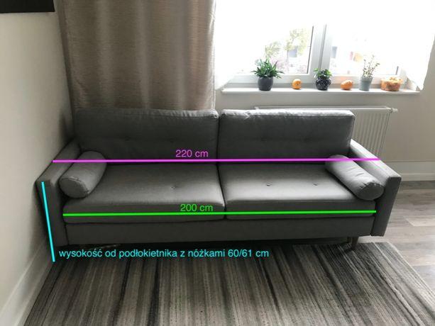 sofa Alonso (z agata meble) 3-osobowa, funkcja spania