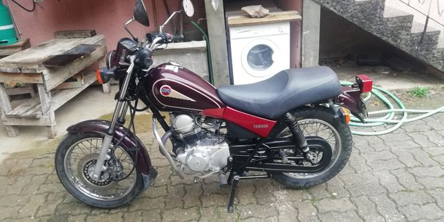 Moto 125 yamaha SR de 1988