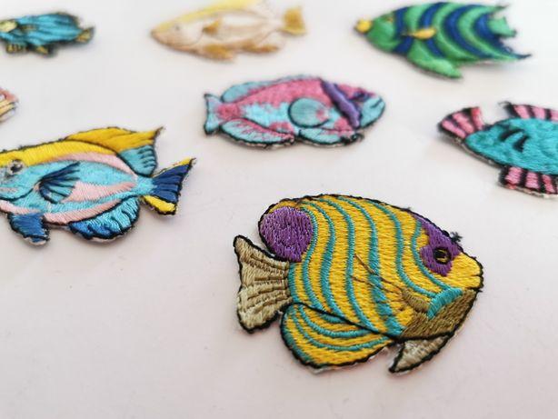 Peixes, Bordado, Aplicações - Novos - Oferta envio. Cada conjunto