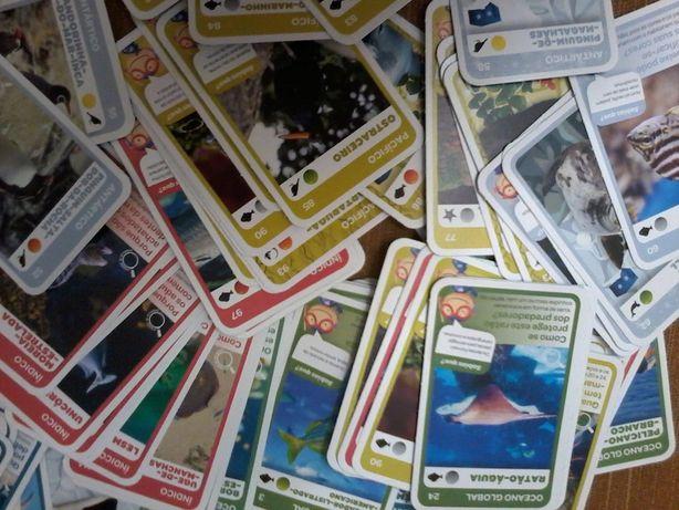 cromos /cartas Super Animais, 2 e 3 - vendo a unidade ou coleção