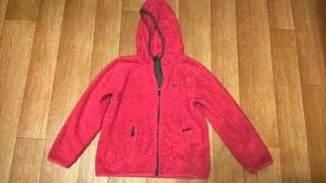 Bluza dziewczęca różowa na wiek 8-10