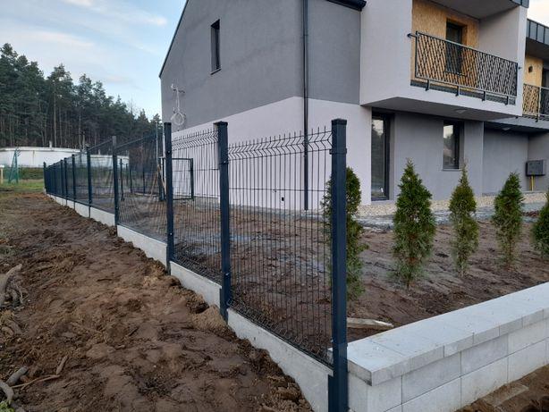 Ogrodzenie ogrodzenia płot 3d 2d panelowe panele bramy furtki montaż