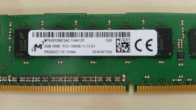 2Gb 1R×8 PC3-12800E-11-13-D1
