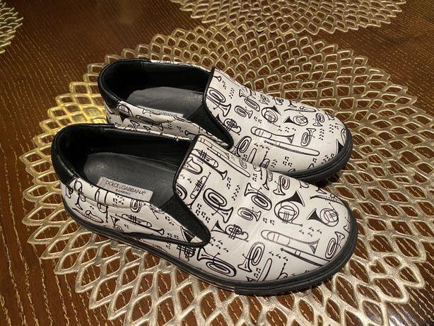 Слипоны, туфли, кросовки D&G, dolce gabana