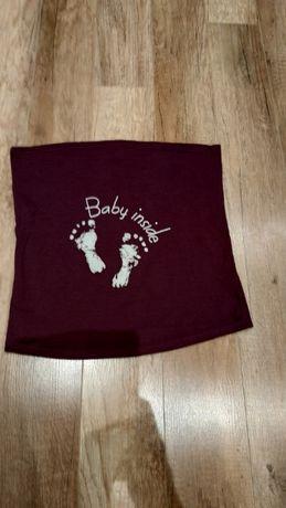 Pas ciążowy/bluzka, opaska na brzuchu