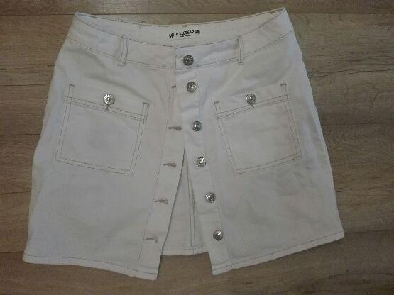 Spódnica jeansowa kremowa rozmiar M - zakupiona dzisiaj 15 zł