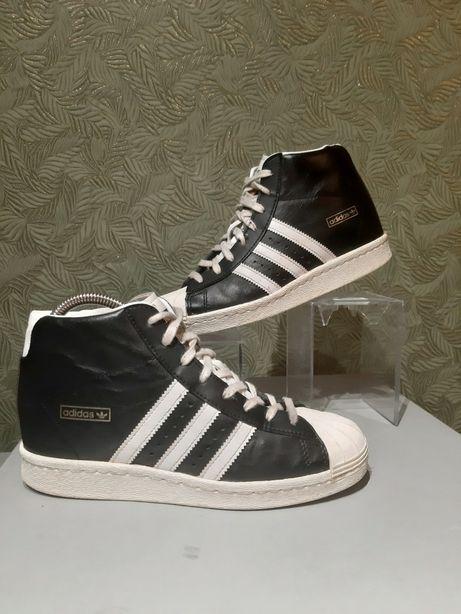Продам оригинальные кроссовки кеды Adidas натуральная кожа
