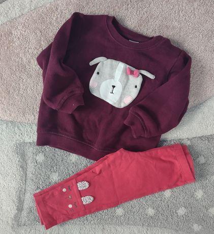 Bluza HM plus legi 80 komplecik na jesień