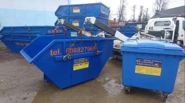 Wywóz odpadów odpady śmieci gruz papa wełna kontener kontenery TANIO
