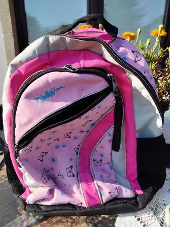 Plecak różowy dla dziewczynki