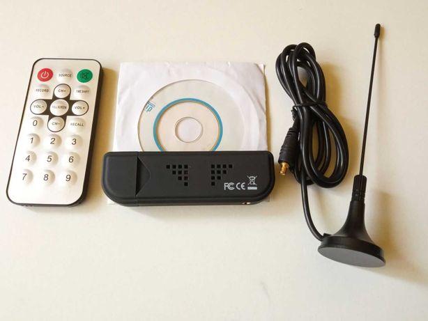 Raspberry Pi Dekoder DVB-T + DAB + FM