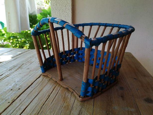 Cadeira vintage de criança para bicicleta