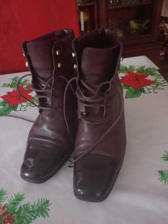 buty Trzewiki wiązane