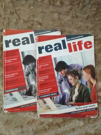 Real life pre-intermediate комплект англійська мова к92