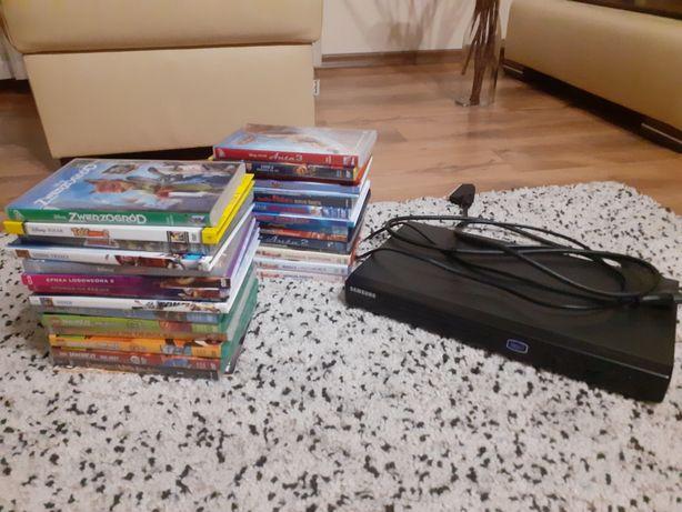 DVD Samsung i 30 kultowych bajek Auta, Samoloty, Ninjago, Masza