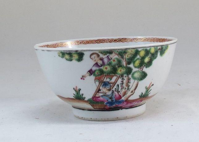 Taça Porcelana chinesa dec Família Rosa Recolte des Cerises 11 cm