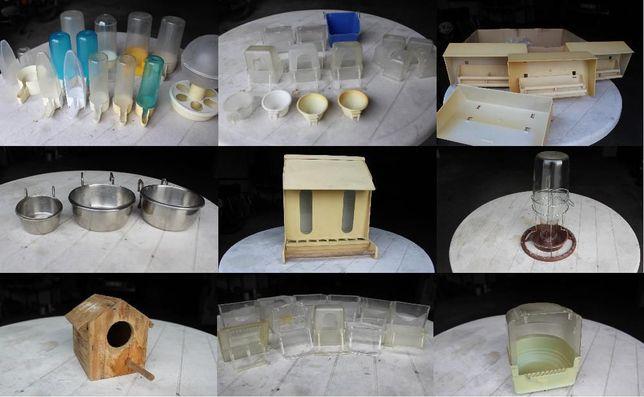 Acessórios para gaiolas de pássaros
