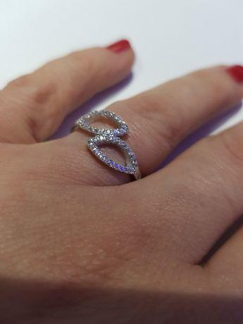 Srebrny pierścionek  rozmiar 15