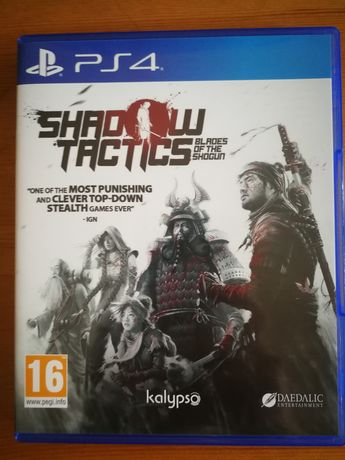 Shadow Tactics Blades Of The Shogun PL PS4 PlayStation
