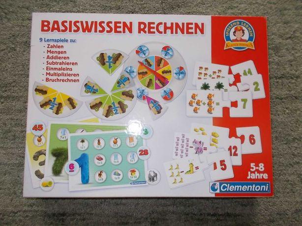 Basiswissen Rechnen gra firmy Clementoni do nauki matematyki.